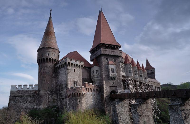 Corvinilor Castle - Hunedoara, Romania