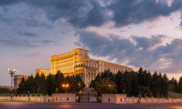 parliament palace bucharest romania GPNYZWA