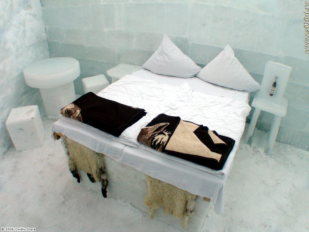 Destinație de weekend: Hotelul de gheață de la Bâlea Lac, județul Sibiu