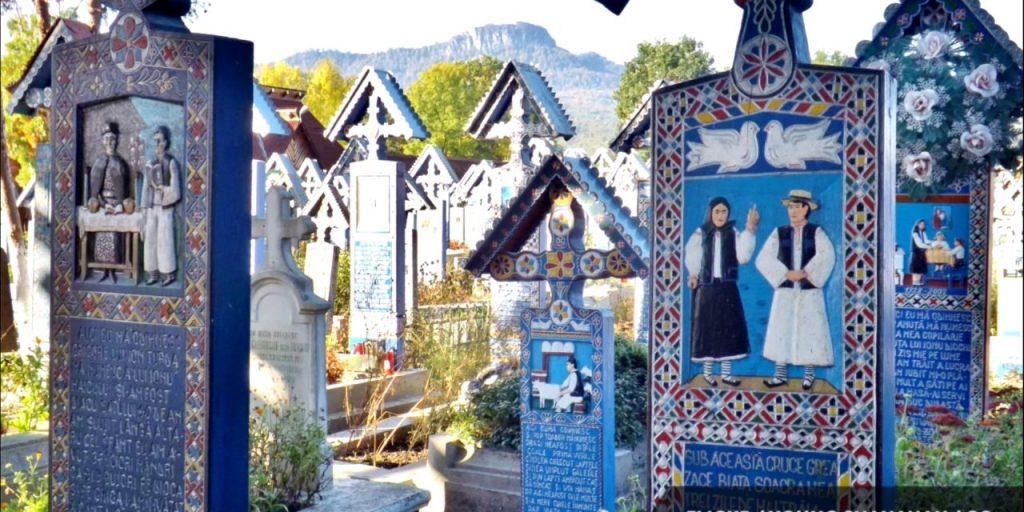 Sapanta Merry Cemetery Private trip in Romania Maramures 1280x640 1
