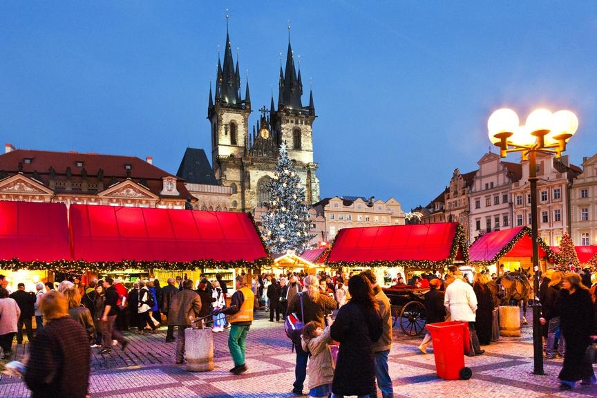 Cele mai frumoase târguri de Crăciun din Praga
