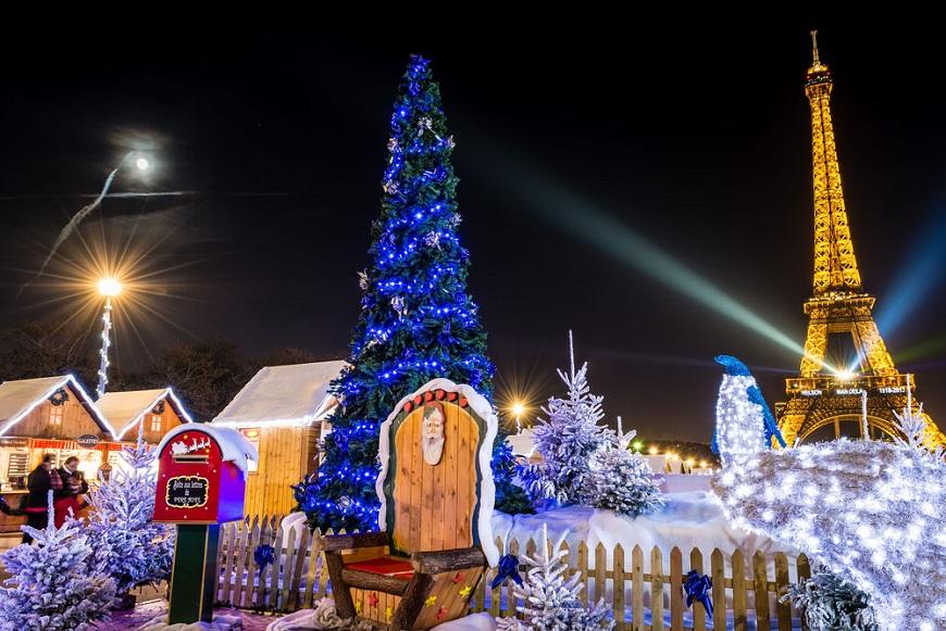 Cele mai frumoase târguri de Crăciun din Paris