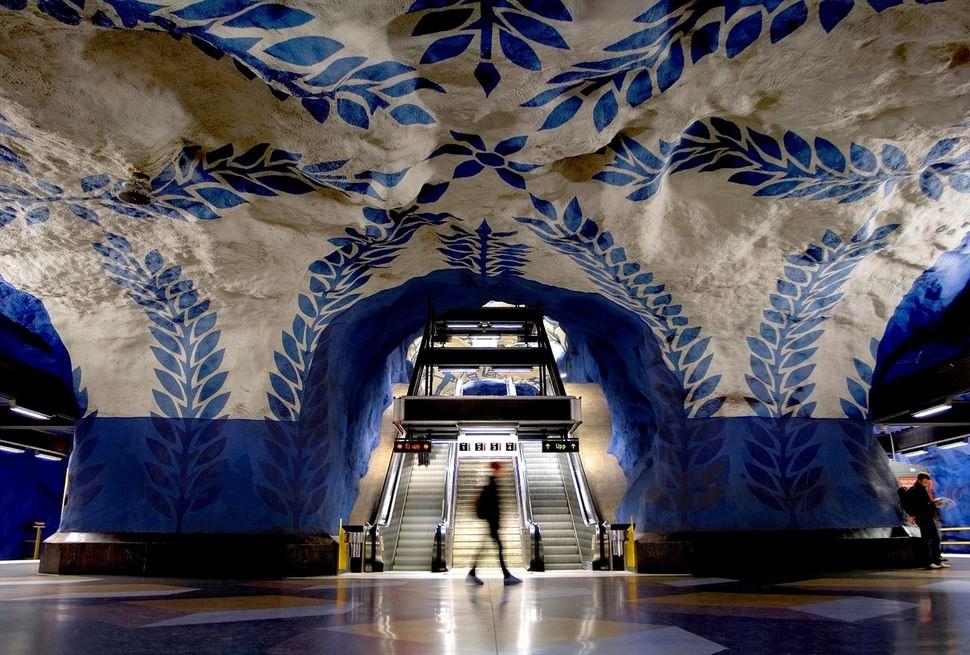 Cele mai interesante statii de metrou din lume