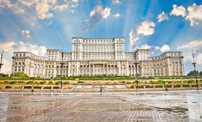 Romania e frumoasa: Turist in Bucuresti