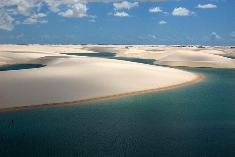 Deșertul inundat. Locul unic în lume unde peștii își depun icrele în nisip