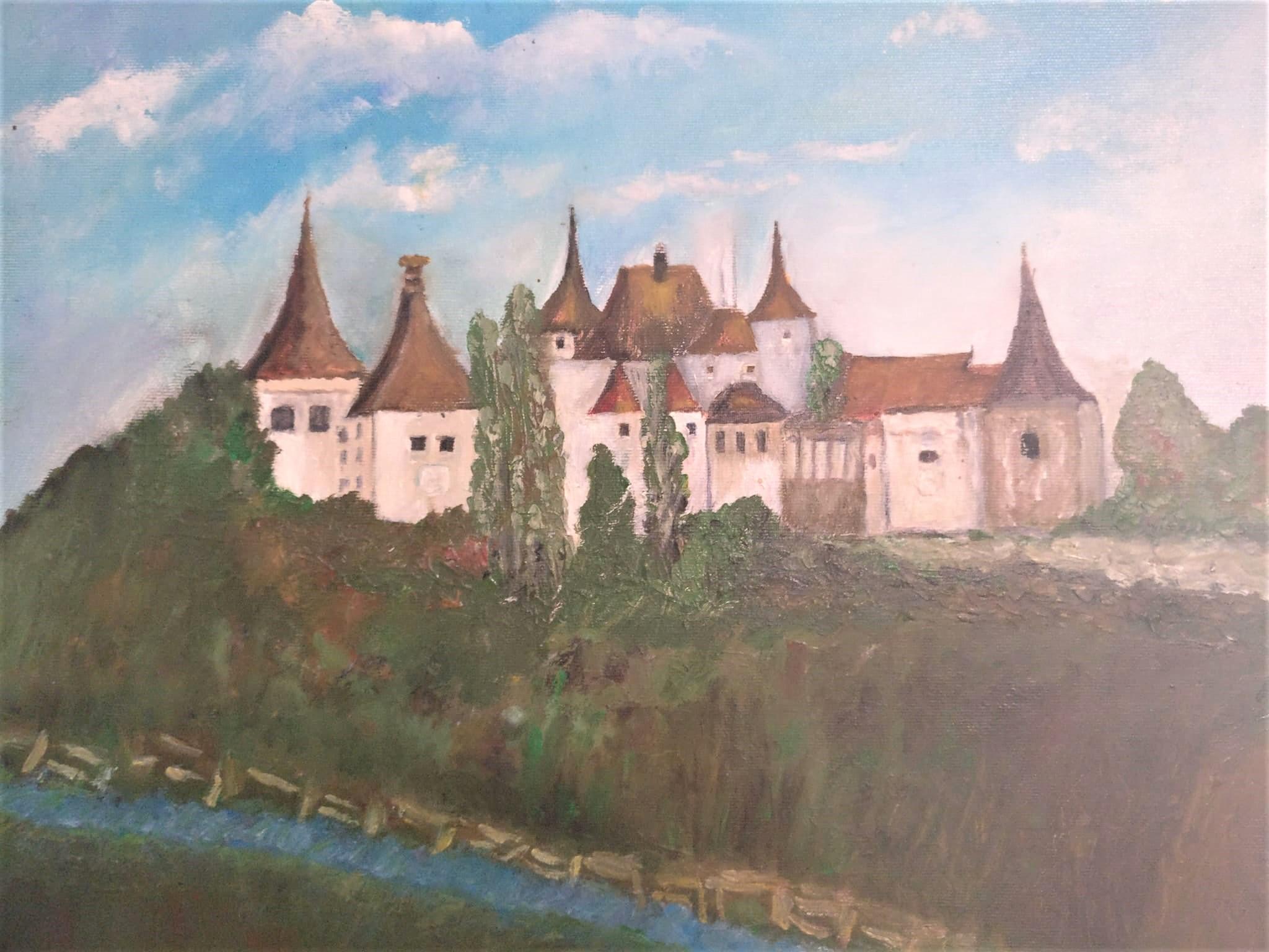 """,,Castelul cu inorogi"""" de la Mănăstirea"""