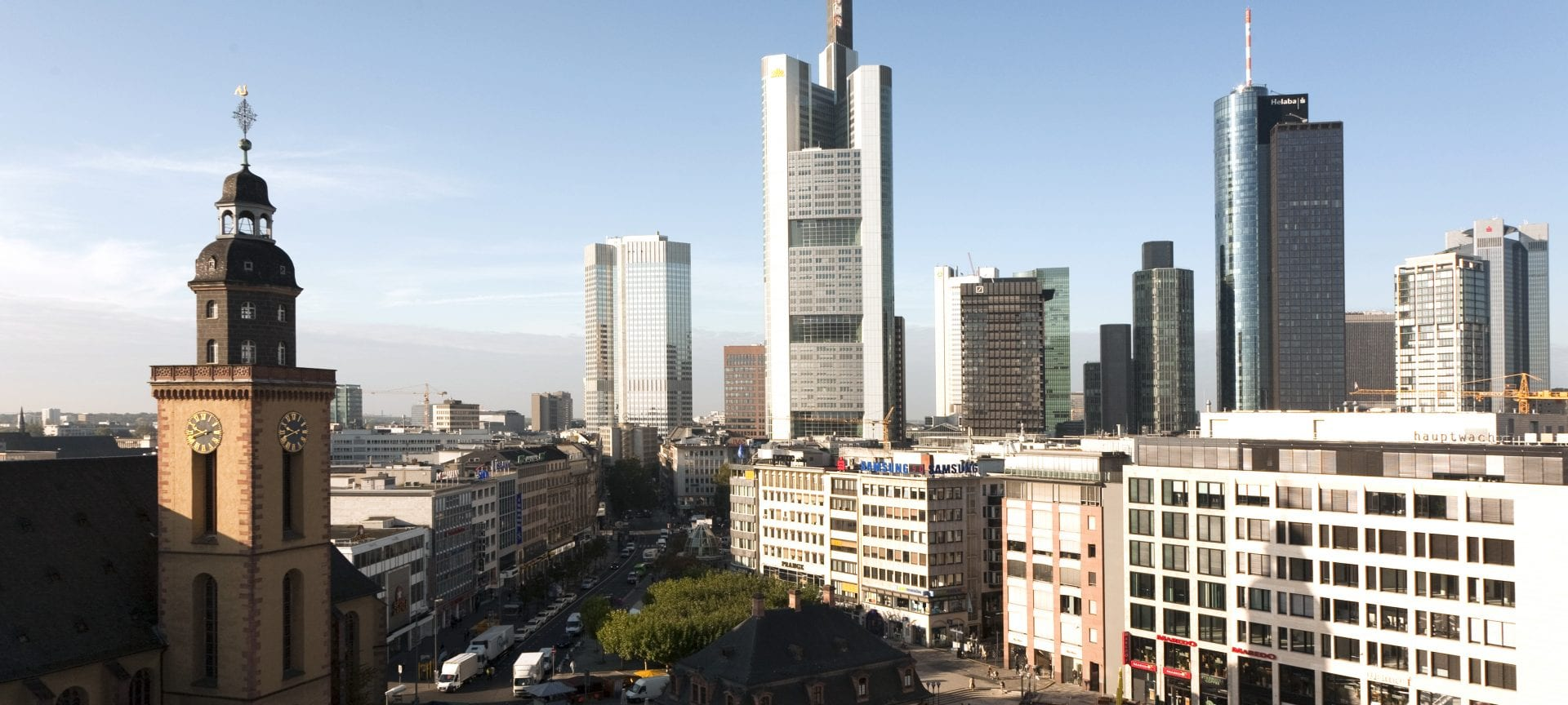 Obiective turistice în Frankfurt. Cum plănuiești o vacanță în Chicago de pe Main?