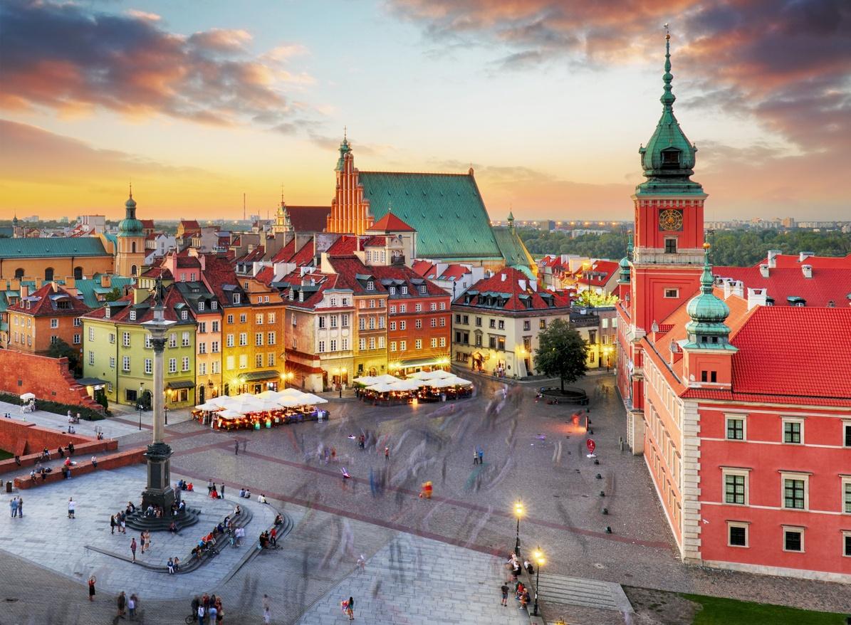 Cât costă o vacanță în Varșovia, orașul renăscut după al Doilea Război Mondial