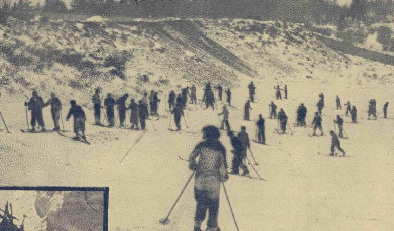 Staţiunea de schi din Bucureştiul interbelic