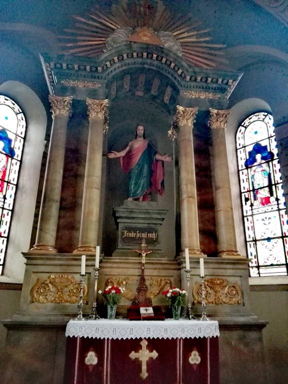 Biserica fortificata Cristian obiective turistice Brasov Romania 61