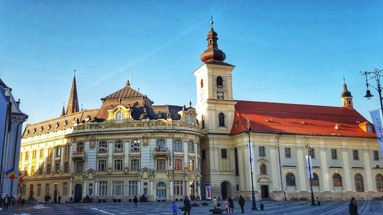 How to get to Sibiu Romania