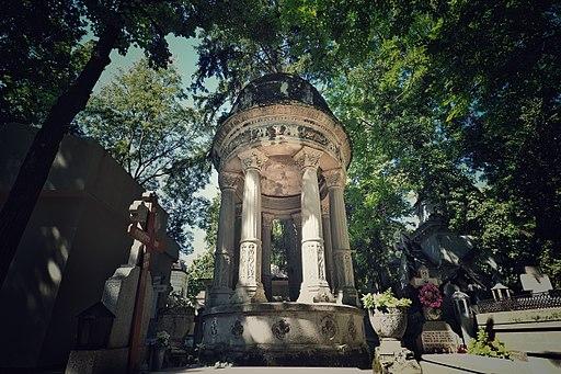 Bucharest Bellu Cemetery Unlabeled Monument 28495445682
