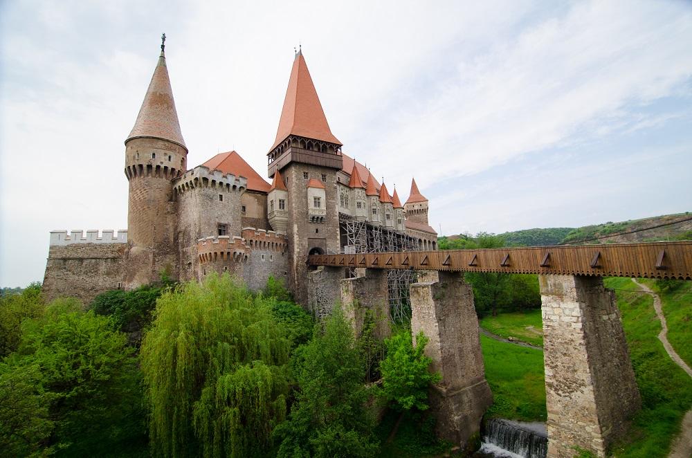 Castelul Huniazilor foto Laurentiu Nica