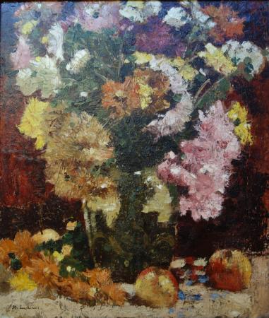 stefan luchian chrysanthemes