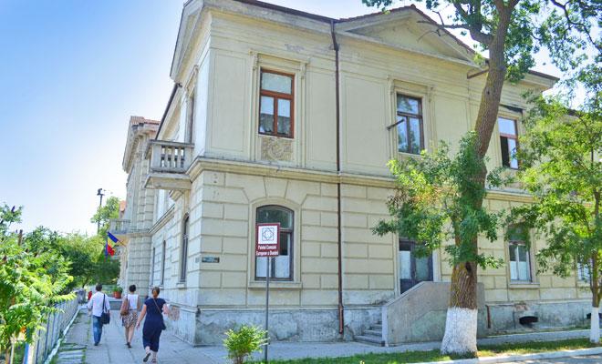Fostul Palat al Comisiunii Europene a Dunarii din orasul Sulina