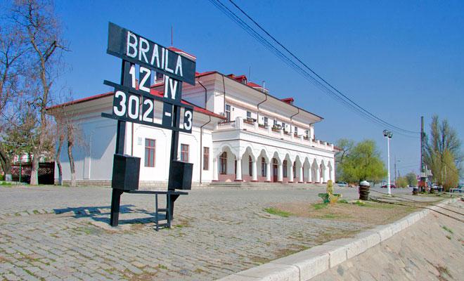 Gara Fluviala din orasul Braila dan calin