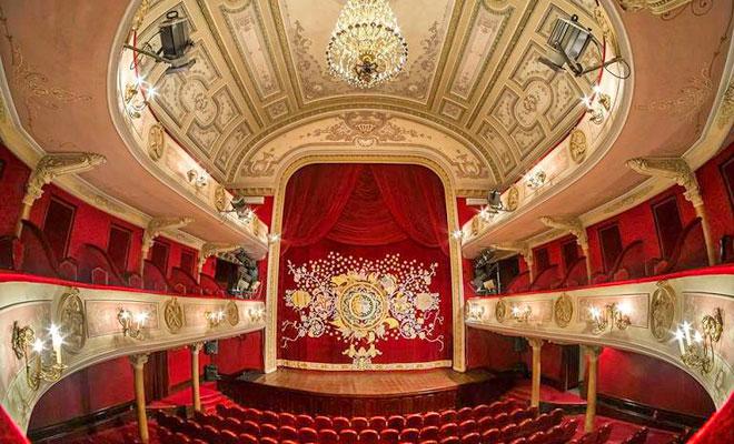 Teatrul Maria Filotti din orasul Braila tmf