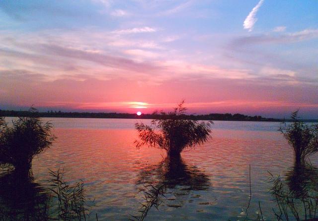 Lacul Siutghiol la apus 1