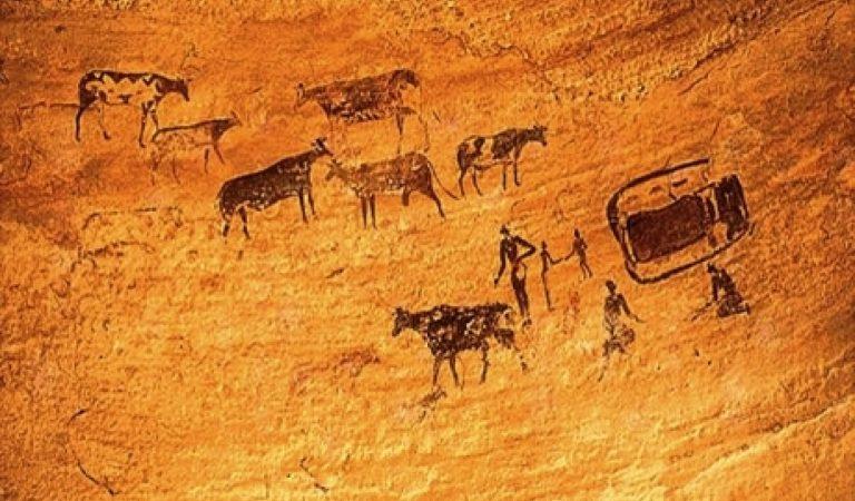 Peştera cu picturi rupestre Coliboaia