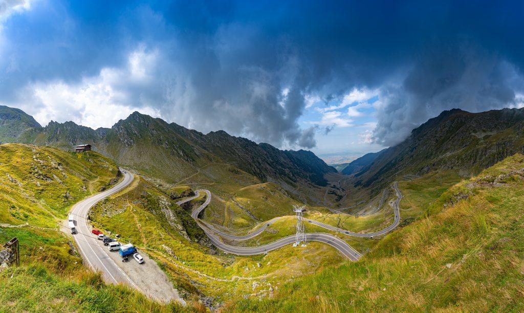 panorama of tranfagarasan road AC2MSE3