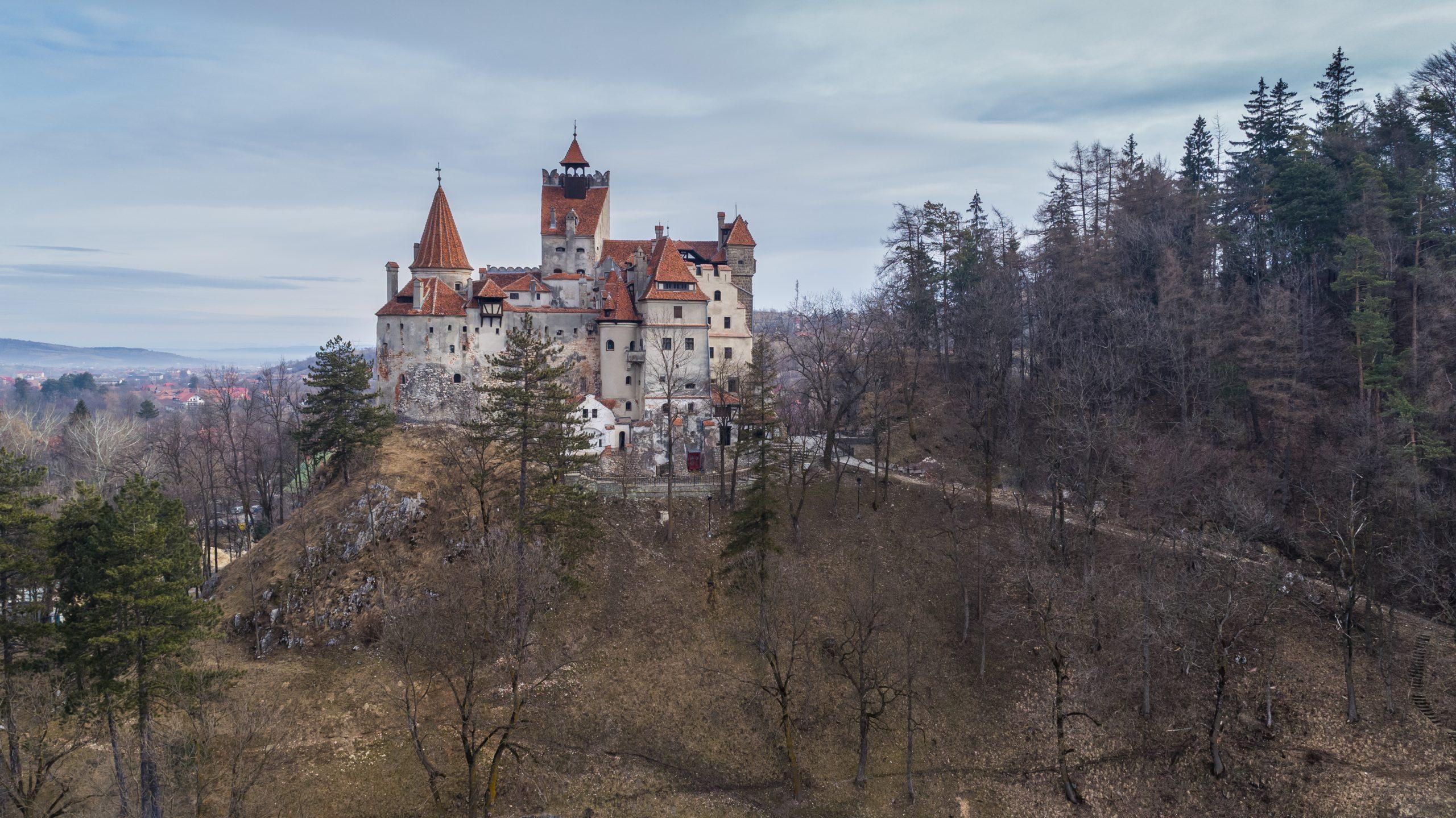 medieval bran castle brasov transylvania romania PF53KWL 5 scaled
