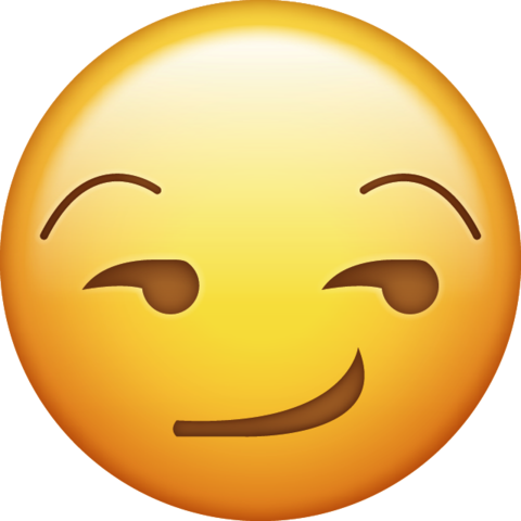 smirking face 1