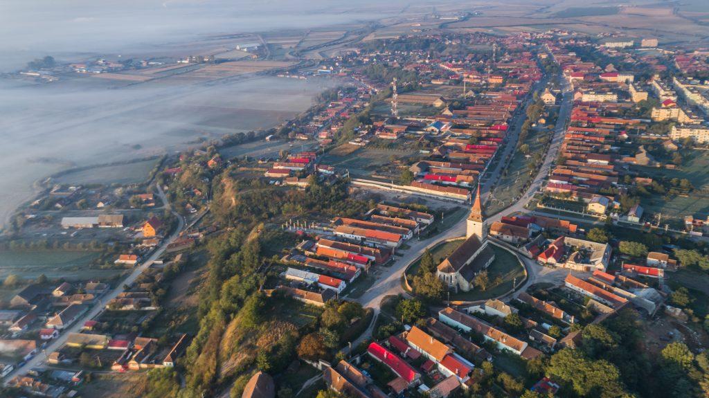 feldioara village transylvania romania PETFSVG
