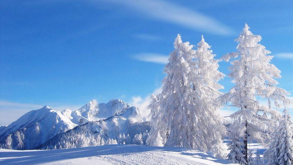 Peisaj de iarna Maramures
