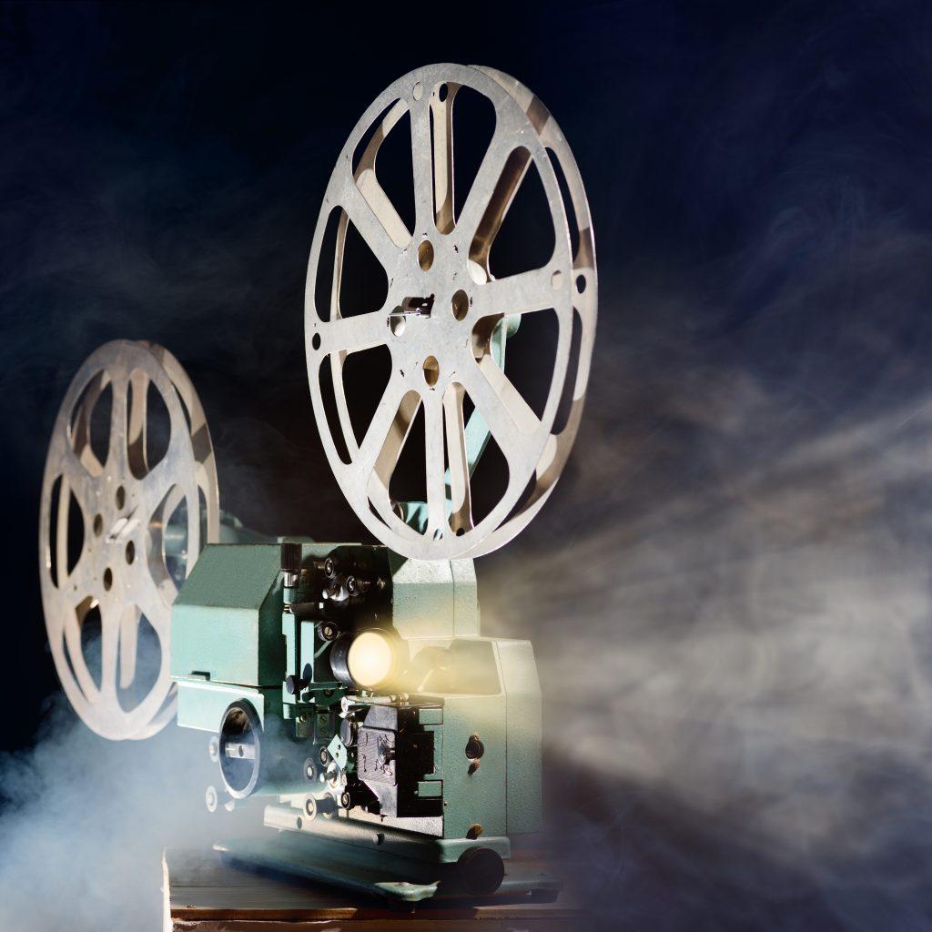 retro movie projector PUJFMXF