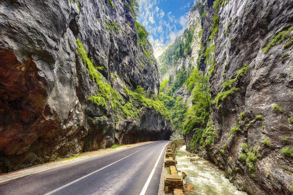 amazing summer view of bicaz canyoncheile bicazulu GA4KYTC