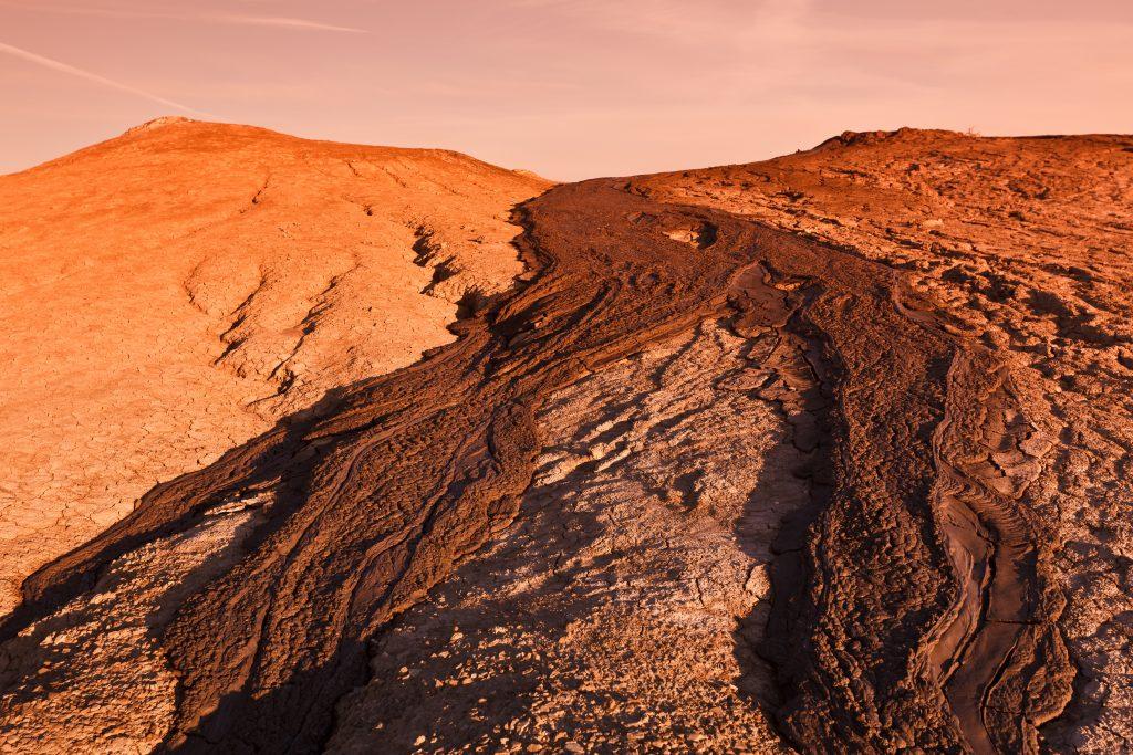 mud volcanoes in buzau romania PRFDHF6