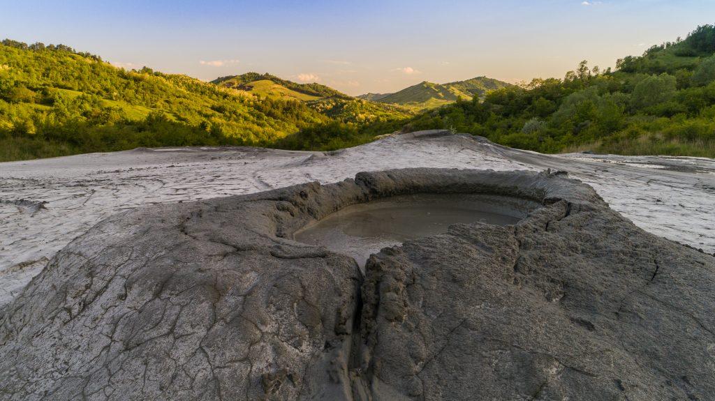 mud volcanoes romania PHC7XYQ