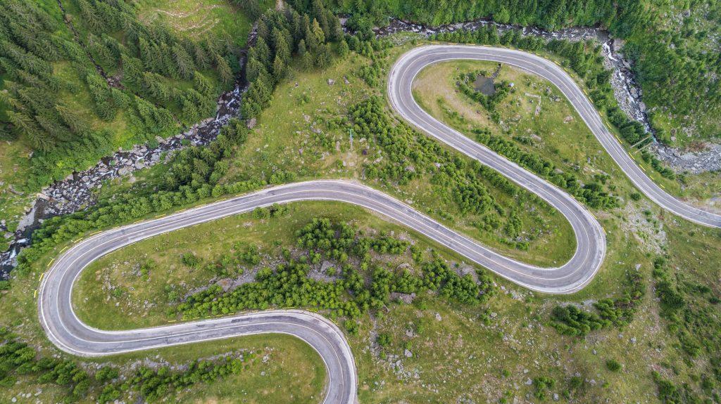 transfagarasan highway in romania PCM38FB