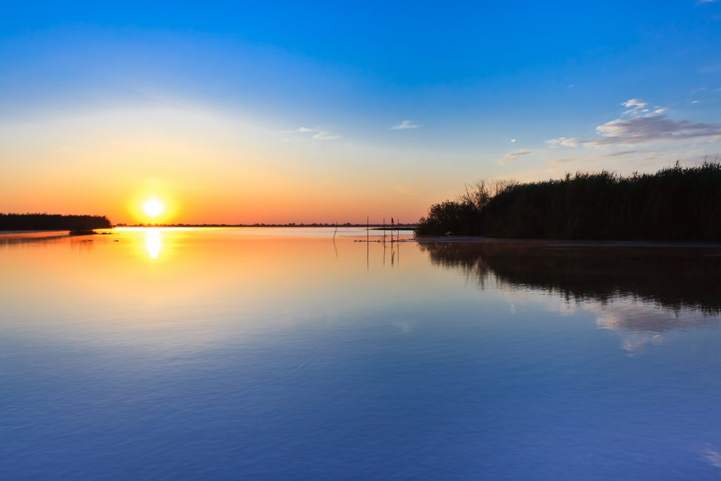 sunrise in the danube delta PQTSHBG